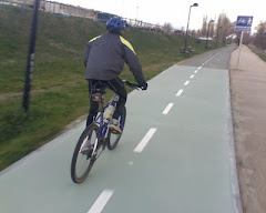 En el carril bici de Zamora