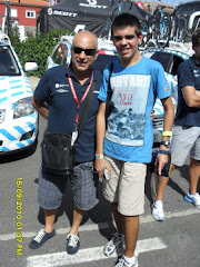 Con Álvaro Pino