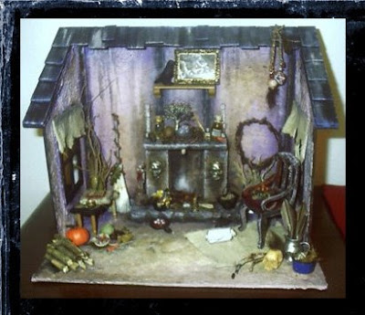 What 39 s bubbling at cauldron craft miniatures miniature for How to make your own dollhouse