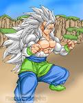 Goku Super Sayan 5