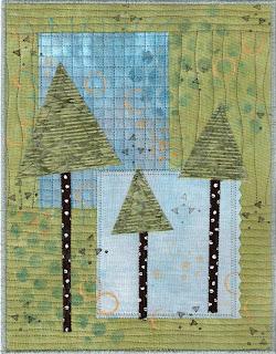 quilt fabric art journal