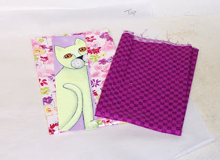 cat fabric paint acrylic