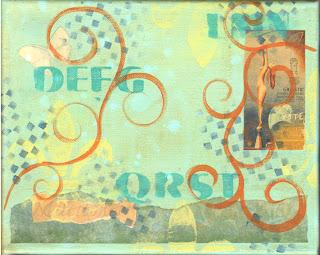 paint, acrylic, canvas, layers, mixed media, surface, art