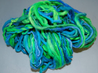 yarn wool single ply roving hand spun spinning