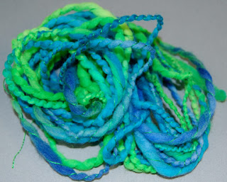 ply yarn thread wool spinning hand spun