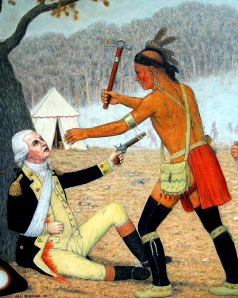 Flintlock and tomahawk battle of the wabash 1791
