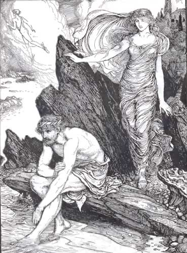 how are odysseus and telemachus alike