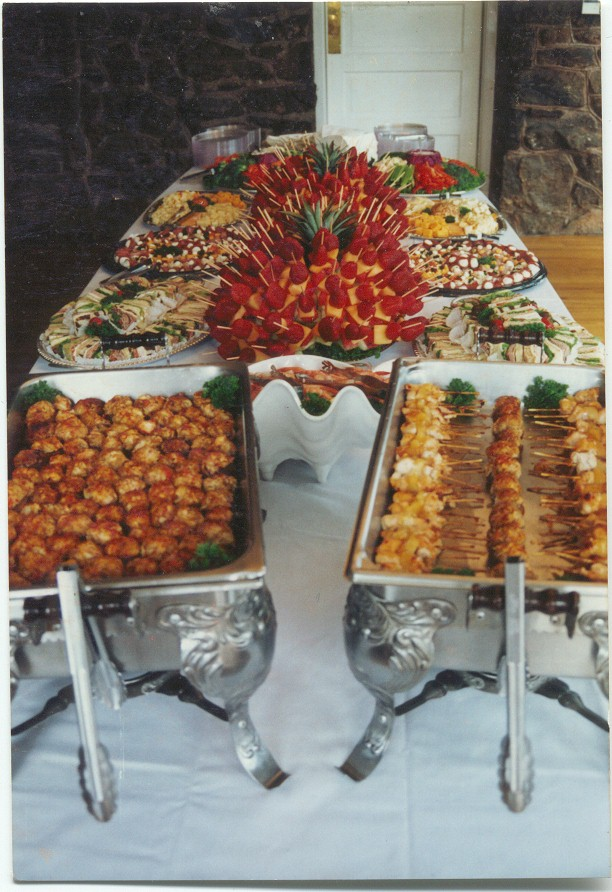 Buffet Table Decorating Ideas Table Decorations Photograph