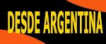 DESDE ARGENTINA