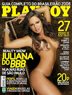 Juliana Goes bbb8 pelada Playboy