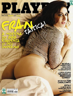 Francine pelada Playboy