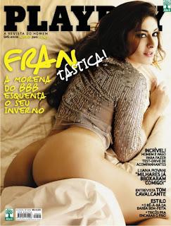 Francine pelada Playboy