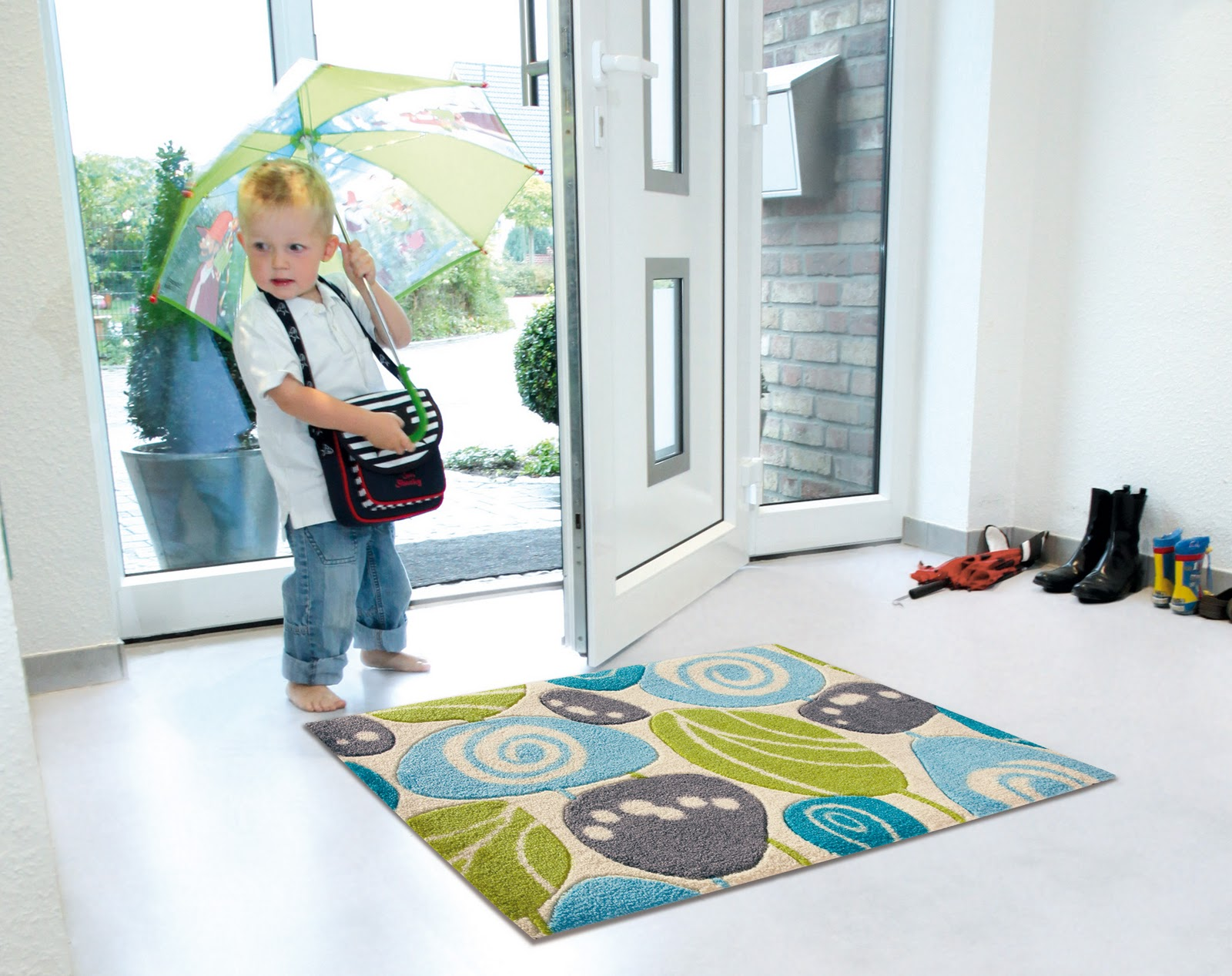 Teppich Eingang ratgeber wohnen und dekorieren tolle matten und teppiche für den
