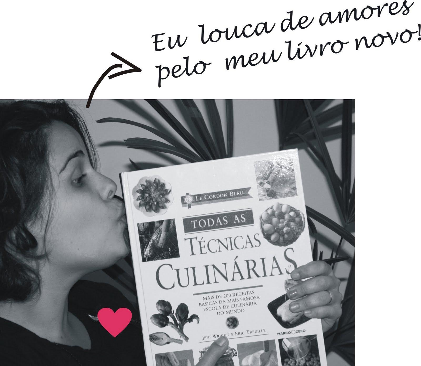 Leitura de casa livro de culin ria para guardar para for Manual tecnicas culinarias
