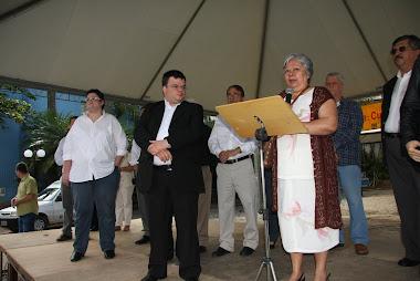 Embaixadores da Paz ARLAN ALVES e GUSTAVO SIQUEIRA