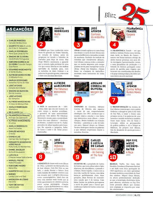 Epopeia entre os Melhores Discos Portugueses de sempre!