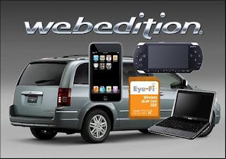 chrysler web edition car