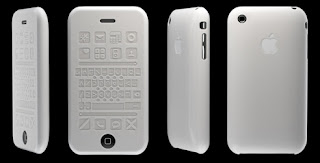 iphone 3g silicon case for the blind visually challenged