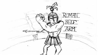 Roman beef arm