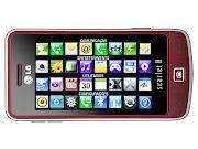 Celular LG GM600 Scarlet 2 (e alguns dispositivos com TV Digital disponíveis .