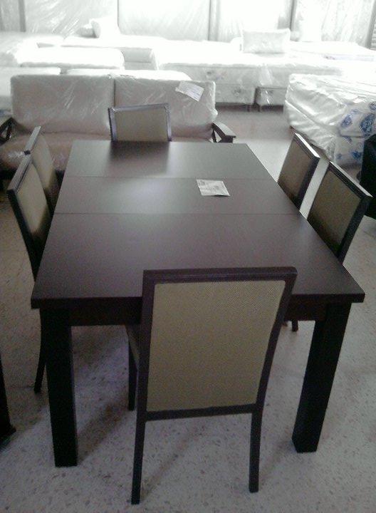 Colchones y muebles imperial nuestros productos for Comedores y antecomedores