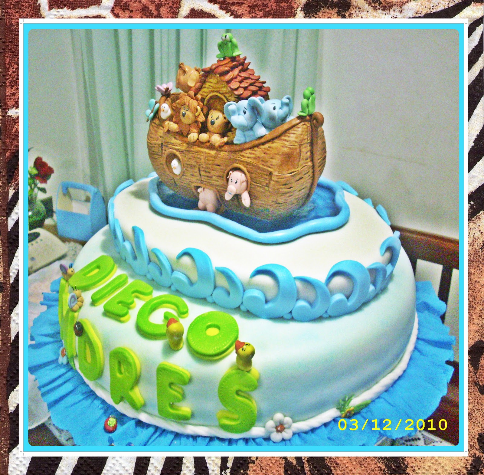 As   Qued   En La Torta Elaborada Por Norka Mart  Nez  Quien