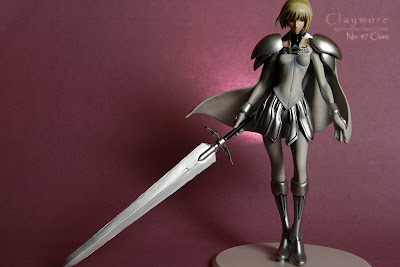 no. 47 clare claymore, no. 47 clare, clare, clare pvc figure, claymore, photography