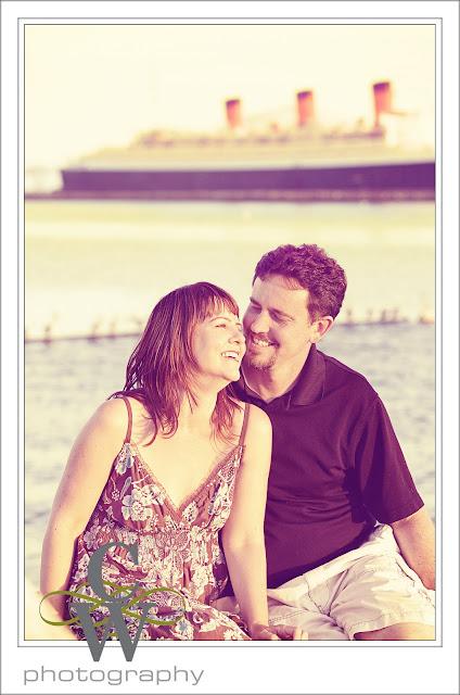 Engagement Portrait, Long Beach