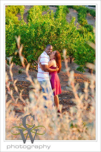 Engagement Portrait,Tustin Ranch