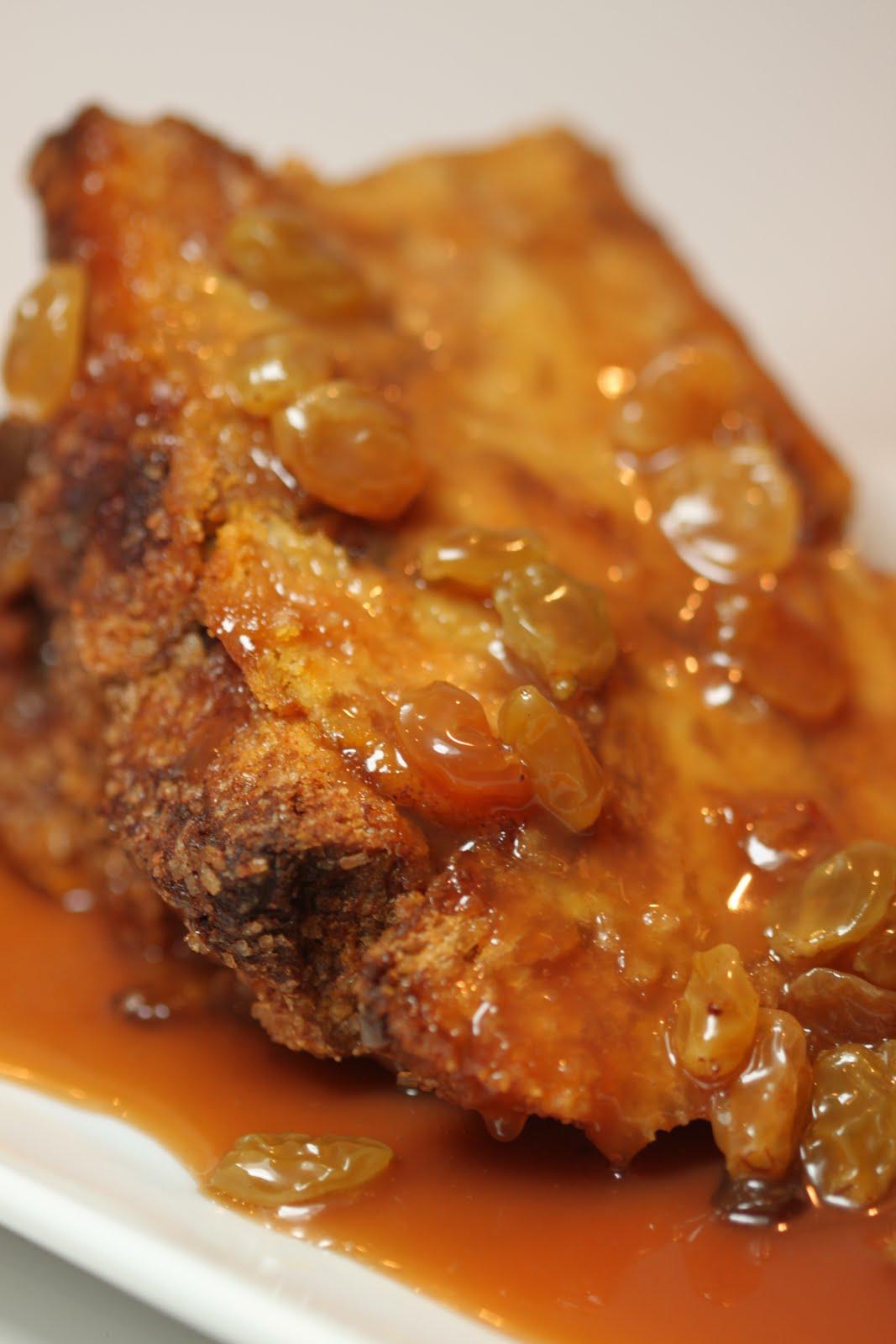 ... Melissa Sundays - Pumpkin Bread Pudding with Caramel Rum Raisin Sauce