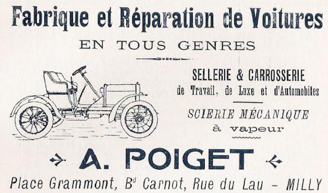 PUBLICITE DE 1909