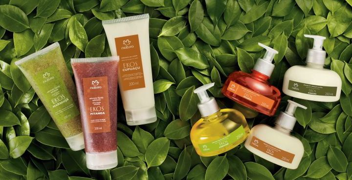 Produtos e práticas sustentáveis - empresa natura