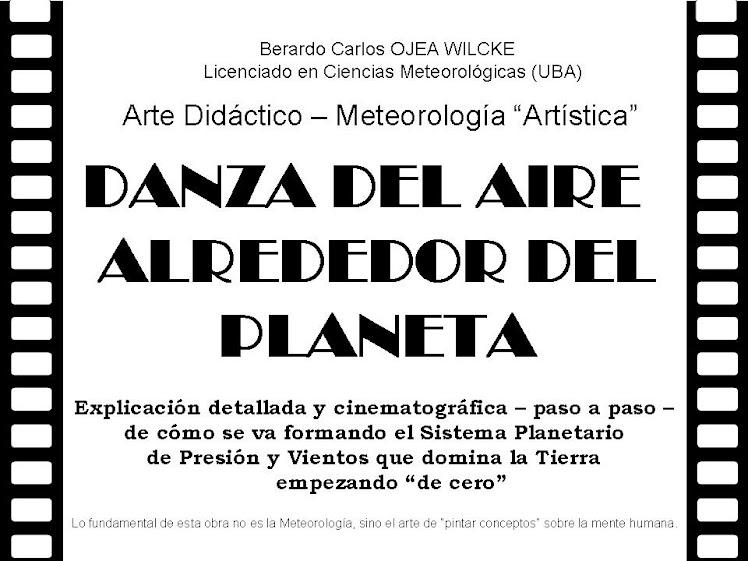 DANZA DEL AIRE ALREDEDOR DEL PLANETA: Solo 100 ejemplares firmados por el autor.