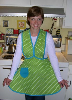 1950's era Anne Cabbot Apron