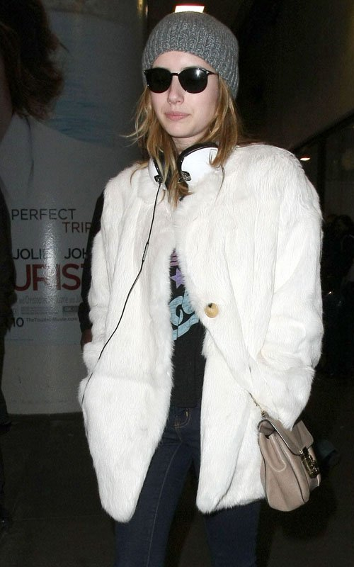 Hotel For Dogs Emma Roberts. Emma Roberts was spotted at