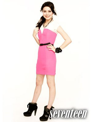 Miranda Cosgrove Takes The March 2011 Cover Of Seventeen Magazine