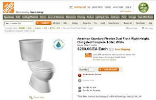 The Home Depot - American Standard Flowise Dual Flush Right Height, Elongated Complete Toilet, White