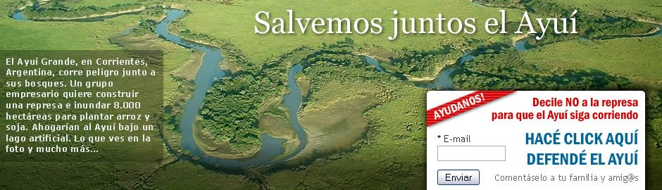 SALVEMOS el Ayu