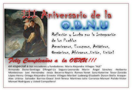 LA OBNU ESTÁ DE CUMPLEAÑOS 11/11/2006