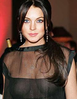 Lindsay Lohan fuels lesbian rumors
