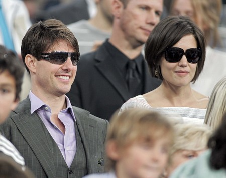 tom cruise, katie holmes, real madrid