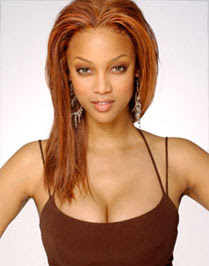 Tyra Banks waiting for Mr. Right