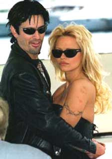 Pamela Anderson dating a mystery man?