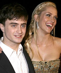 My First Screen Kiss was Great: Radcliffe
