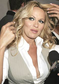 I am not pregnant: Pamela Anderson