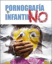 ¡No a la pornografía infantíl!