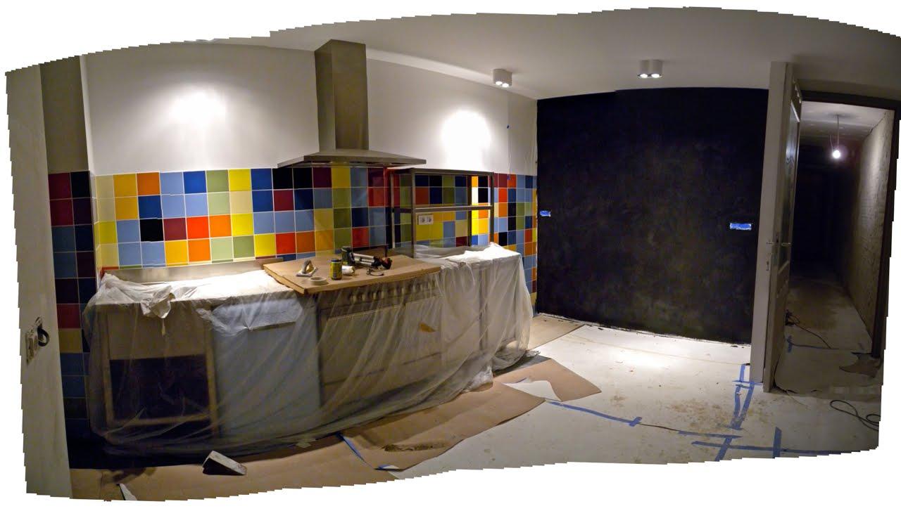 Muren keuken schilderen: verven muur achter keuken. je kunt ervoor ...