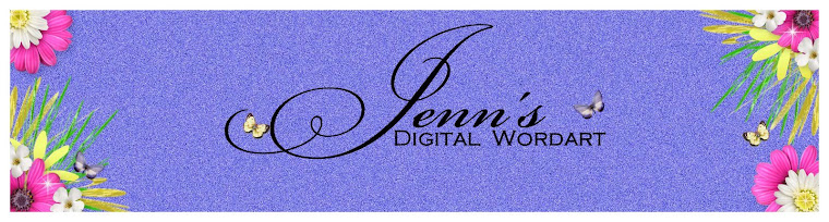 Jenn's Digital Word Art