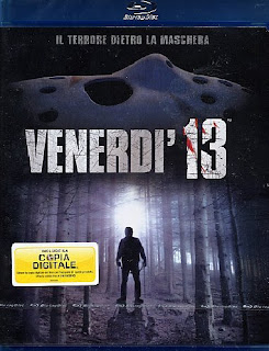 Copertina del Blu-Ray di Venerdì 13