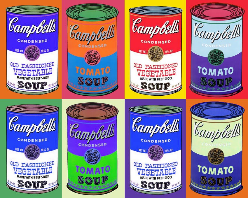 Quest ArtistsAndy Warhol Pop Art